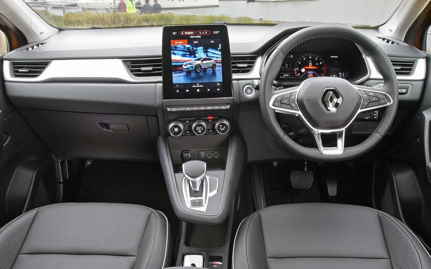 Captur A sleek, intuitive interior