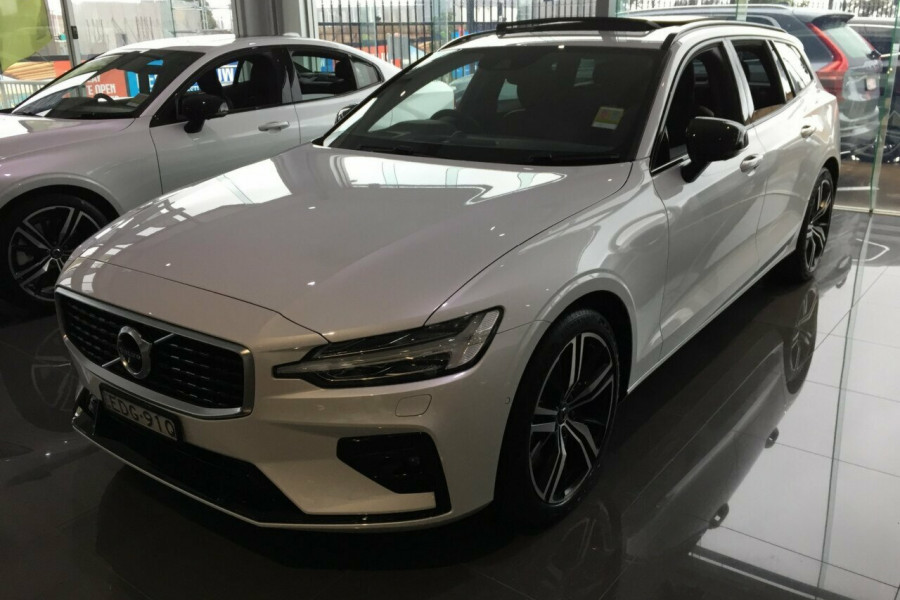 2019 MY20 Volvo V60 Z Series MY20 T5 Geartronic AWD R-Design Wagon Mobile Image 4