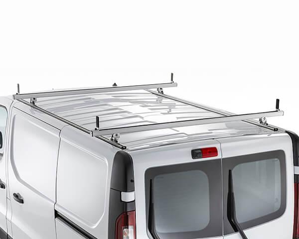 Aluminium Roof Bar with Stop - Long wheel base (Pair)