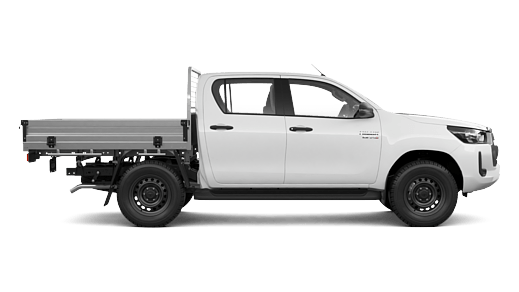 SR 4x4 Double-Cab Cab-Chassis