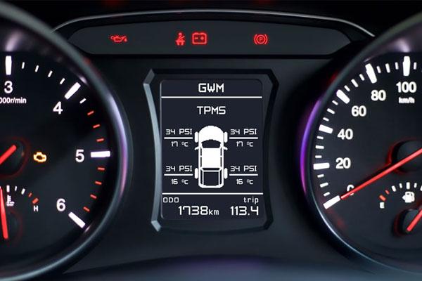 Steed Dual Cab Petrol Instrumentation