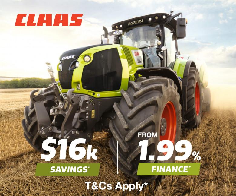 CLAAS AXION 800 & 900 Tractors
