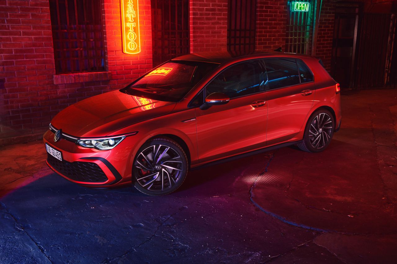 Take a look at the <strong>new Golf GTI</strong> Image