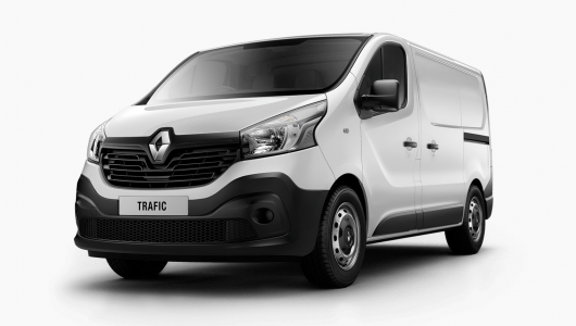 Renault TRAFIC 2018 Plate Clearance - TRAFIC LWB - 103kW Twin Turbo