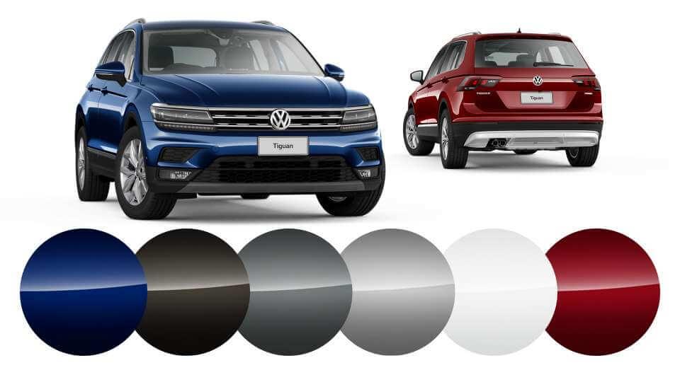 Tiguan Colours