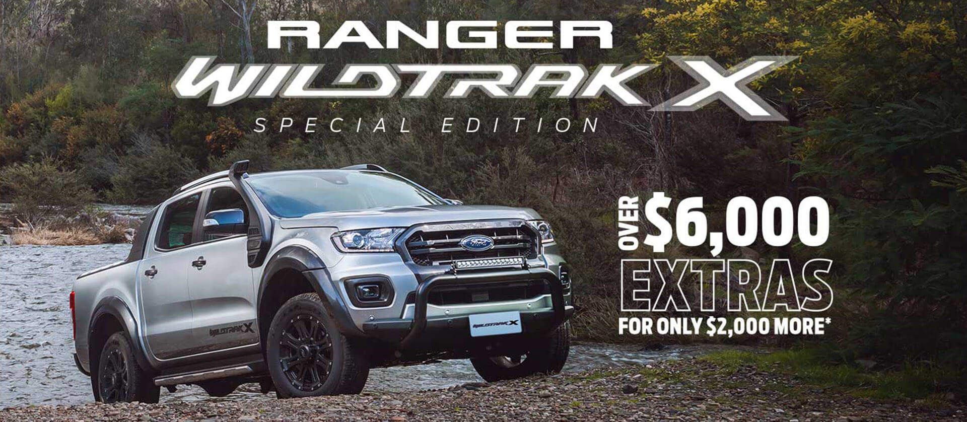 Ford Ranger Wildtrak X Offer