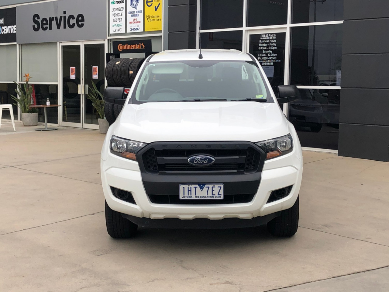 2015 Ford Ranger PX MKII XL Ute