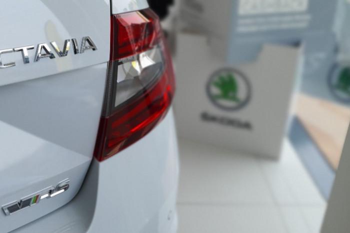 2019 Skoda Octavia NE RS Sedan Sedan