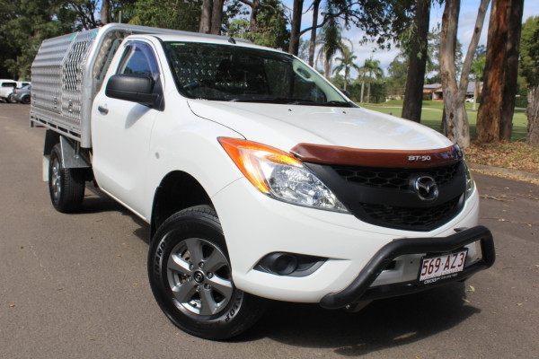 2012 Mazda BT-50 Cab chassis Image 2