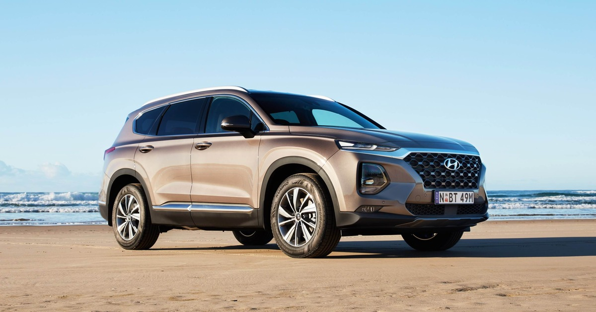 Santa Fe wins 2018 Best Family SUV Award