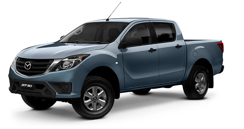 2018 MYch Mazda BT-50 UR 4x2 3.2L Dual Cab Pickup XT Cab chassis