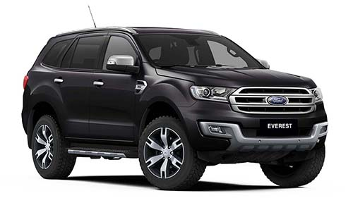 2018 MY19 Ford Everest UA Titanium 4WD 4wd