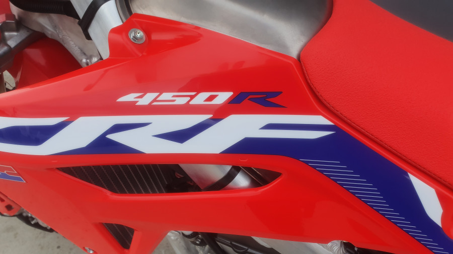 2020 Honda CRF450R TEMP 2020 CRF450R Image 16