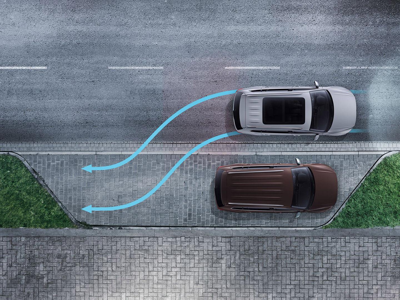 Scratch-free parking Manoeuvre Braking Image