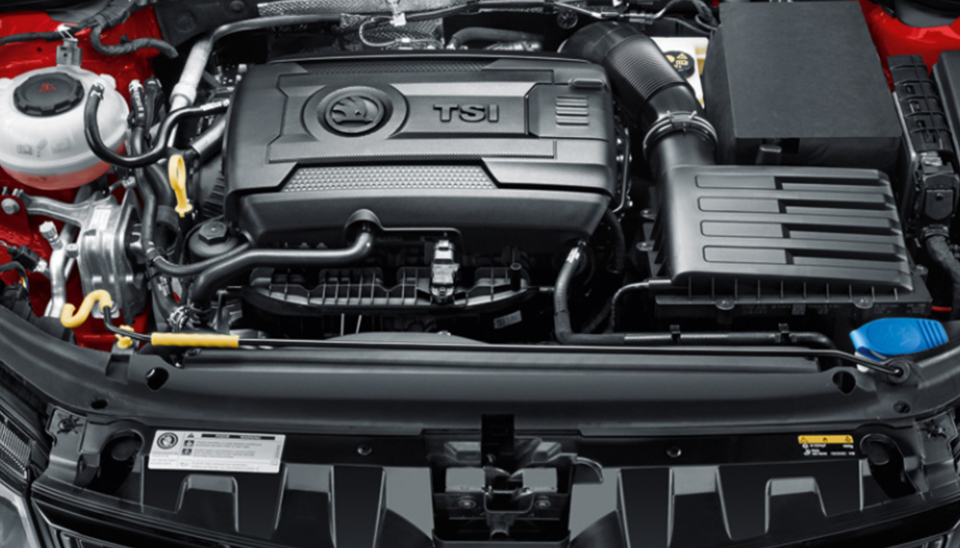 Karoq Turbocharged Engine