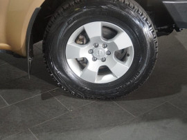 2008 Nissan Navara D40 Turbo RX Cab chassis ext