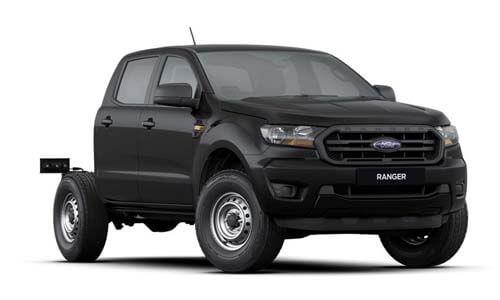 2019 MY19.75 Ford Ranger PX MkIII 4x4 XL Double Cab Chassis Utility