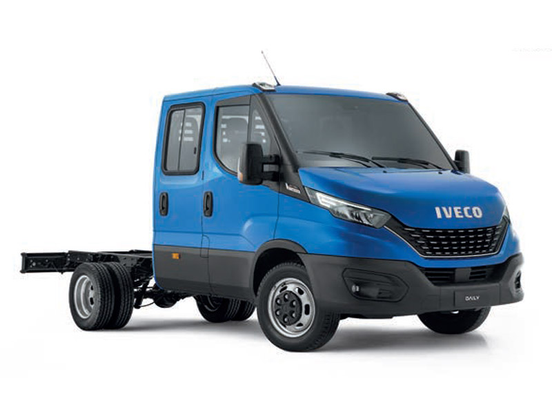 Daily 50C Dual Cab Chassis