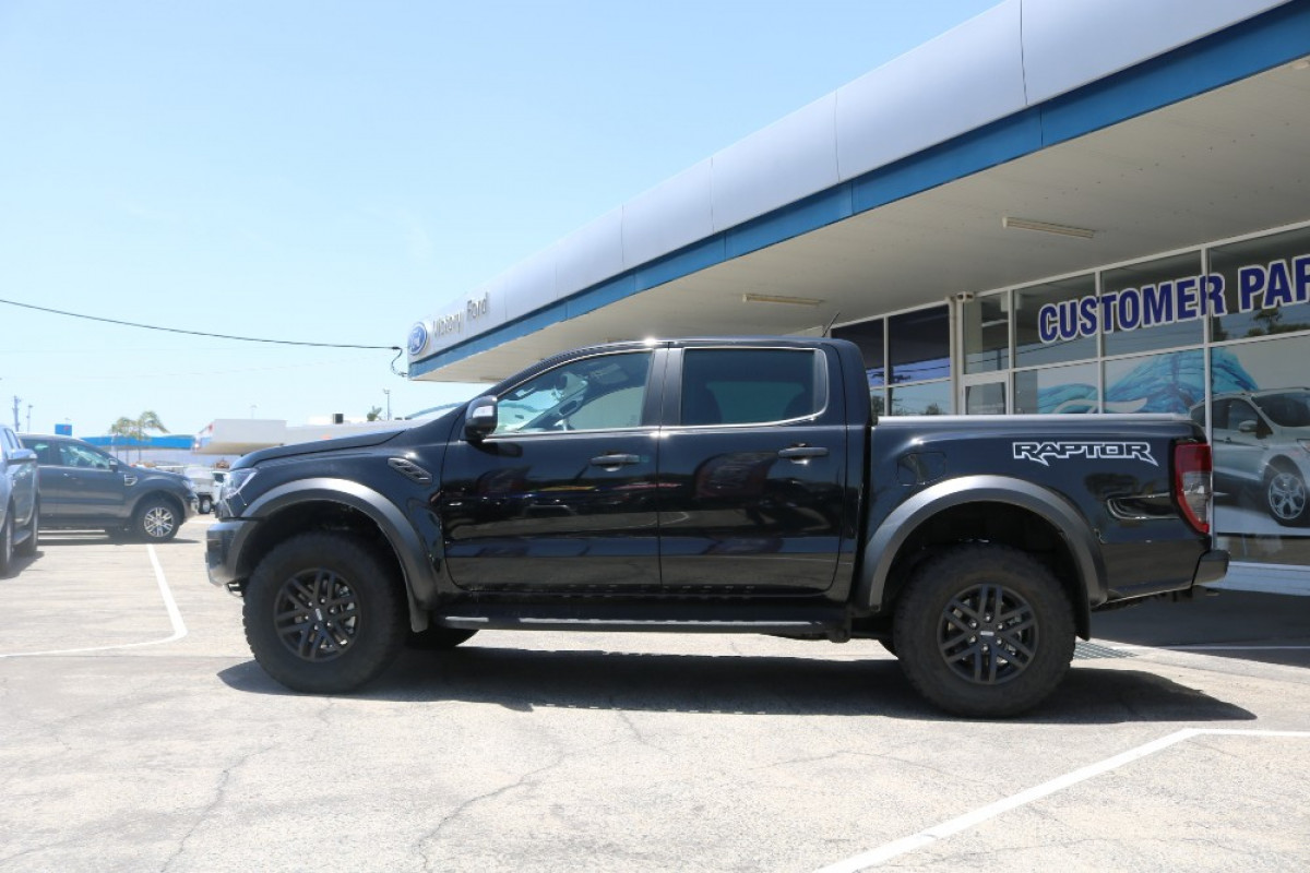 2019 MY19.75 Ford Ranger Raptor PX MkIII Double Cab Pick Up Utility
