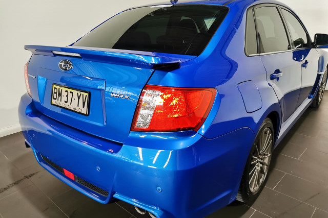 2013 Subaru Impreza G3 Turbo WRX Sedan Image 4