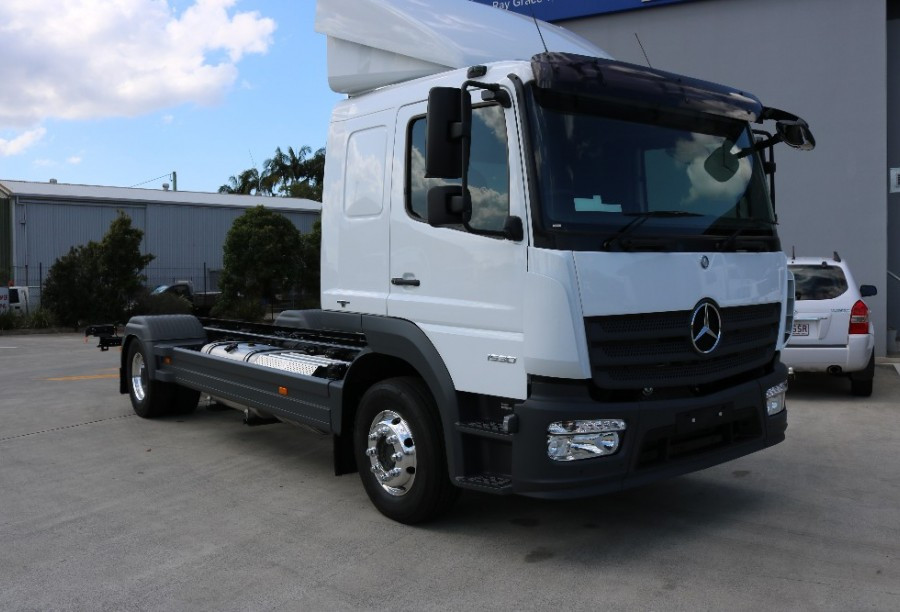 2017 Mercedes-Benz Atego CAB CHASSIS 1630 Cab chassis