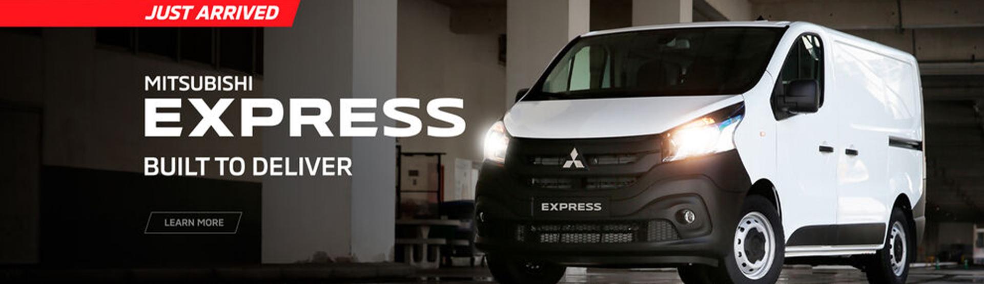 Mitsubishi Express: Built to Deliver