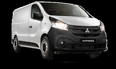 New Mitsubishi Express