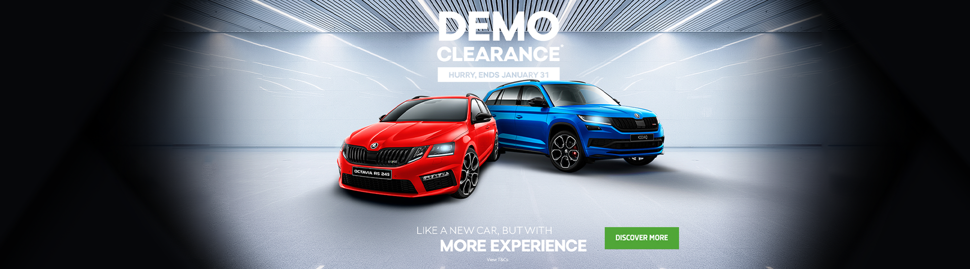 Demo Clearance - Hurry, ends January 31