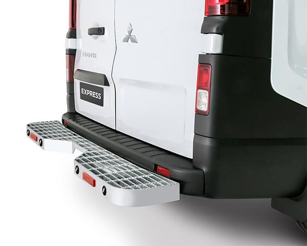Rear Step - With Towbar