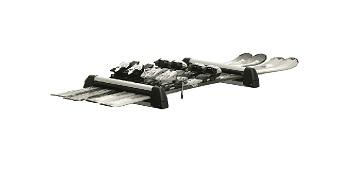 Accessories: Lockable Ski & Snowboard Holder (Silver)