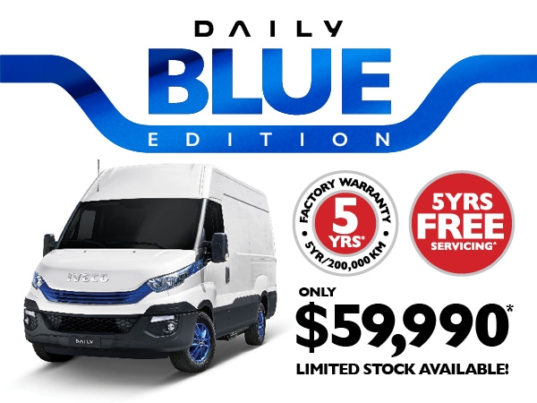 IVECO launches limited edition 'Daily Blue'