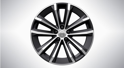 "18"" 5-Double Spoke Matt Black Diamond Cut - 1039"