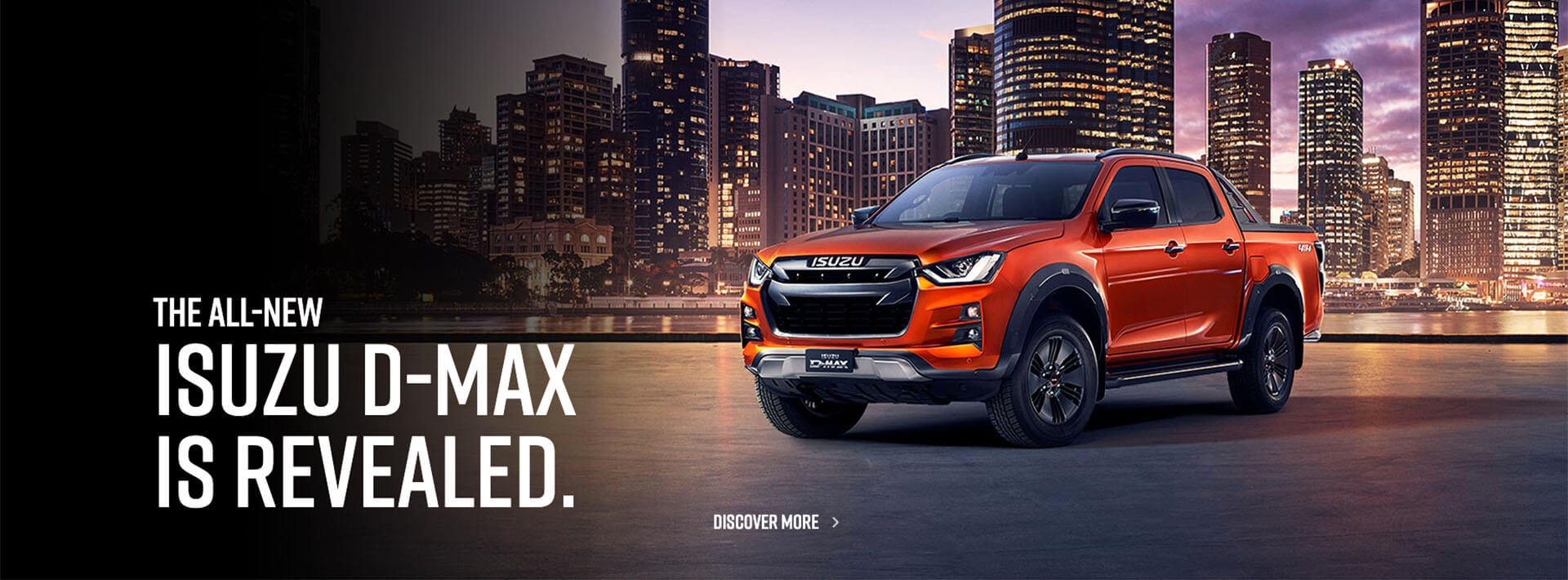 The All-New Isuzu D-MAX is revealed. Register your interest today!