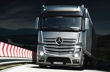Actros Driving dynamics