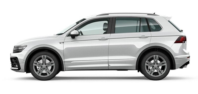 Tiguan 132TSI R-Line Edition 7 Speed DSG 4MOTION