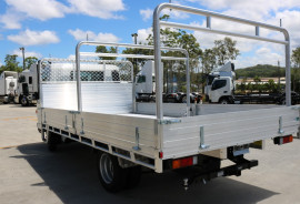 Fuso Canter TRADIE SPECIAL INC FREE TOW BAR 515 WIDE CAB ALLOY TRAY