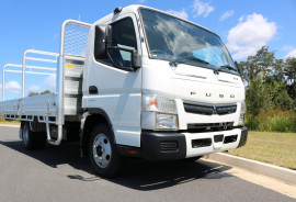 Fuso Canter 515 Wide Tradesman Tray + INSTANT ASSET WRITE OFF 515 WIDE CAB WITH TOW BAR TRADIE TRAY