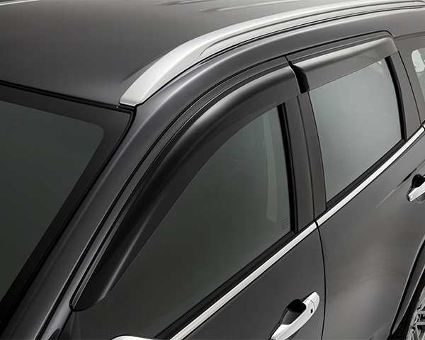 Weathershields front and rear