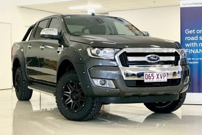 Ford Ranger 4x4 XLT Black Edition Double Cab Pickup 3.2L PX MkII