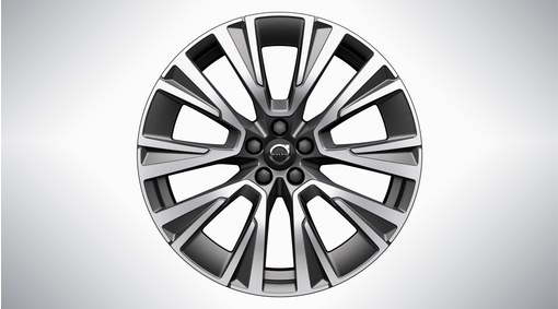 "20"" 5-Multispoke Matt Graphite Diamond Cut Alloy Wheel - 1158"