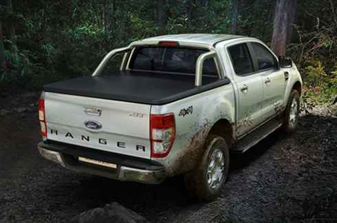 "<img src=""Tonneau Cover - Soft - Double Cab - with tubeless sports bar"