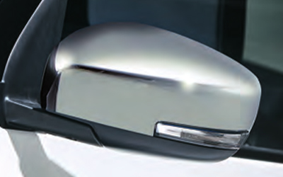 "<img src=""Outside Mirror Cover, Chrome"
