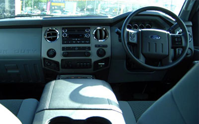 F-Truck 250 XLT Interior Features