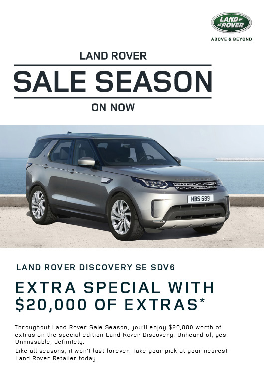 Land Rover Sale Season - Discovery