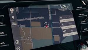 Camry Connected navigation system