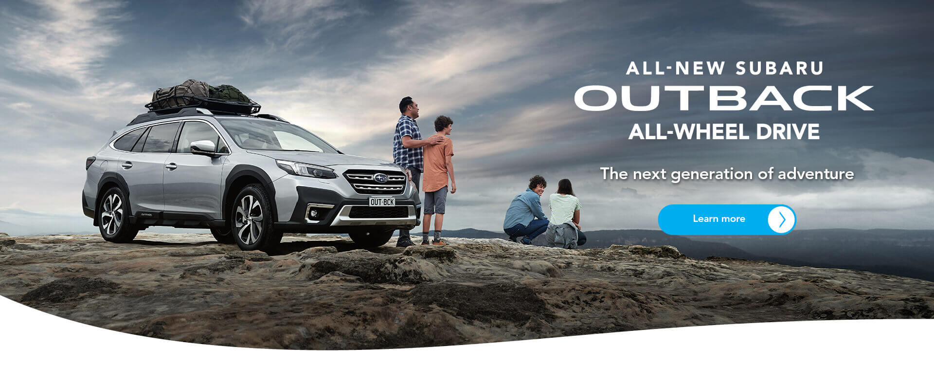The All-new Subaru Outback All-Wheel Drive. The next generation of adventure.