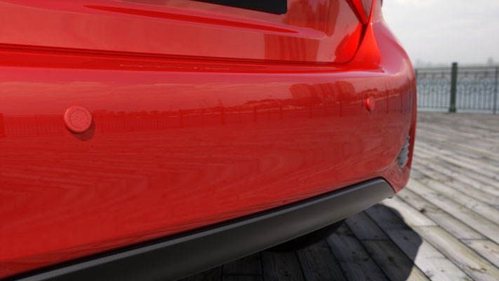 Rear Park Assist - Reverse Parking Sensors (2 Head Kit)