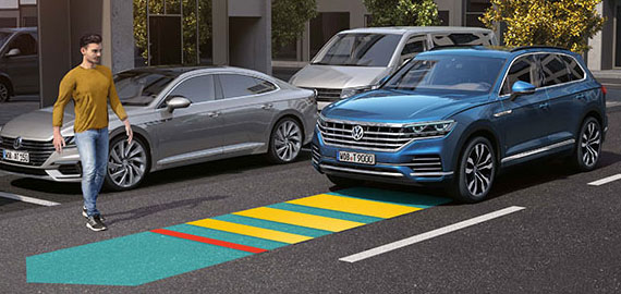 New Touareg Advanced Safety
