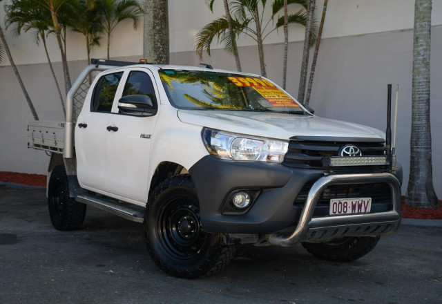 2016 Toyota HiLux GUN125R Workmate Utility