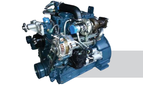 KUBOTA V3800-CR-T Engine